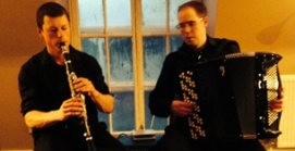 Exciting Scottish duo performing folk music from around the world